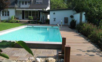 Außenbecken von Swim & Sweat Schwimmbad- und Saunatechnik in Düsseldorf
