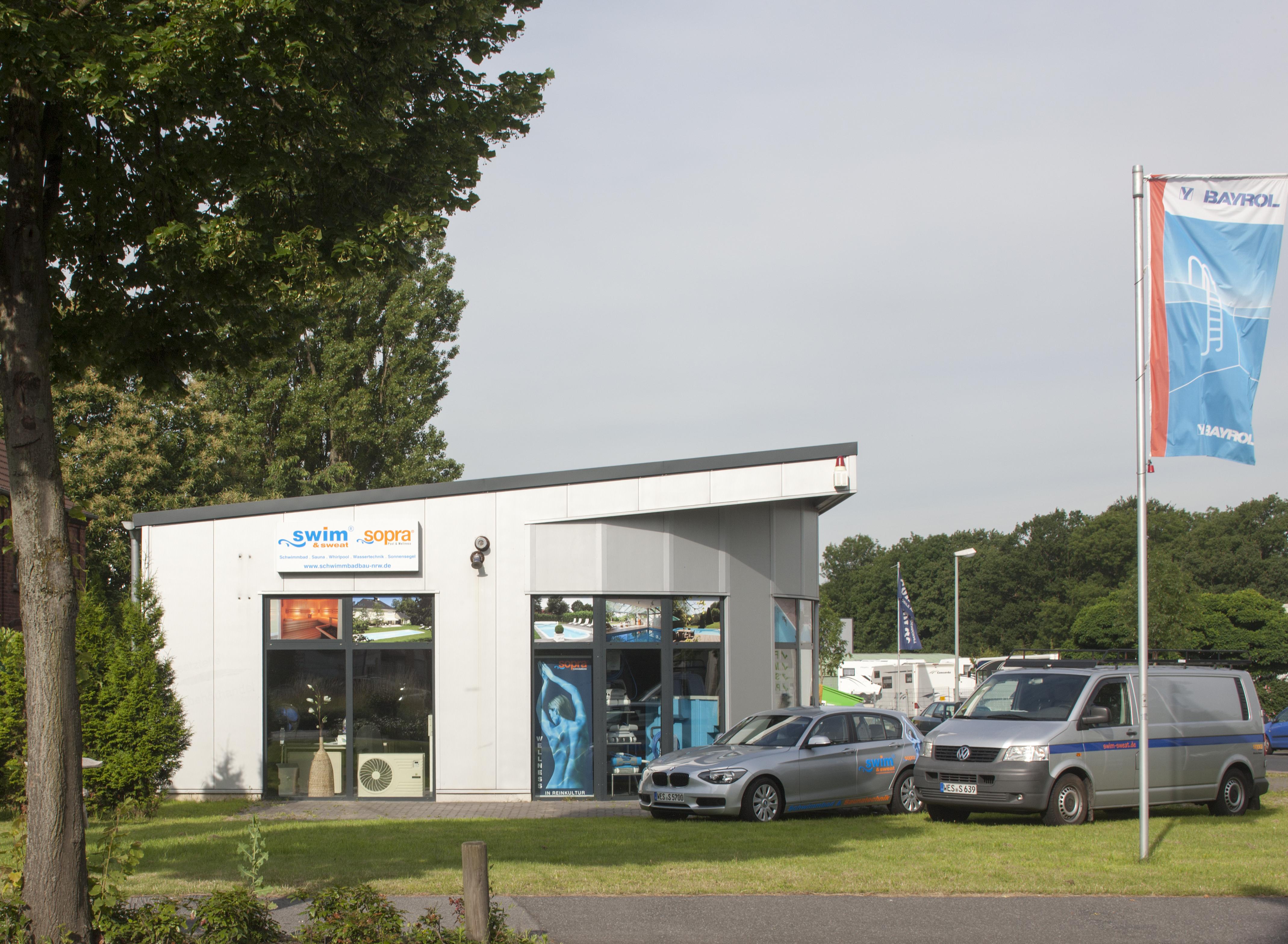 Ladenlokal von Swim & Sweat Schwimmbad- und Saunatechnik