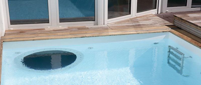 Ein Outdoor-Pool in Essen